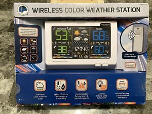 C87030 La Crosse Technology Wireless Color Weather Station TX141TH-BCH - NEW