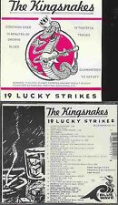 THE KINGSNAKES 19 Lucky Strikes 19 SONGS  *free ship  HOT HARP Chicago BLUES CD