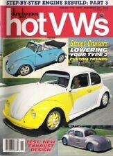 DUNE BUGGIES & HOT VW'S 1987 NOV - DROP A BUS, DOOR HINGE REPAIRS, EXHAUST TEST
