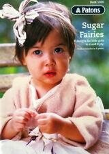 Patons Knitting Pattern Book 1304 - Sugar Fairies - 8 designs 4 & 8ply 3mth-6yrs