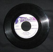 "Ernest Wilson & Coxsone Dodd ""Why Oh Why"" 1978 Studio 1 roots 7"" EX"