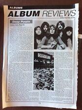 K1b Ephemera 2003 Music Review Deep Purple Listen Learn Read On