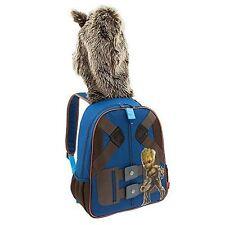 NWT Disney Store Groot Rocket Raccoon Backpack Kids Guardians of the Galaxy