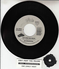 """REO SPEEDWAGON  Can't Fight This Feeling 7"""" 45 record + juke box title strip NEW"""