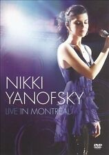 Live in Montreal by Nikki Yanofsky (DVD, Jun-2010, Decca), Like new, free post