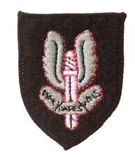 Official Special Air Service SAS Colour Cap Badge