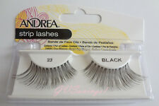 NIB~ Andrea Modlash #23 False Eyelashes Fake Lashes Strip Black