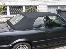 BMW E30 CABRIO CAPOTE E 30 CABRIOLET ALPAGA NOIR NEUVE