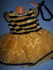 NWT GYMBOREE BUMBLE BEE  HALLOWEEN COSTUME & HEADBAND 6-12 MO Free US Shipping