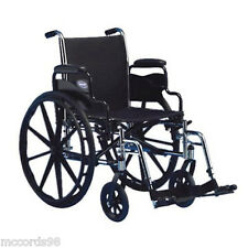 "Invacare Tracer Sx5 18x16"" Wheelchair W/ Desk Length Arms & Footrests TRSX58FBP"