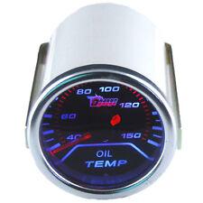 2 Zoll  LED Auto Instrument Gauge Universal Öltemperatur Anzeige Oil Temp