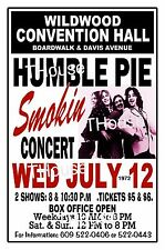 HUMBLE PIE 1972 Wildwood NJ Convention Hall Retro Art Poster Sign THouse 2015