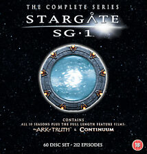 Stargate SG-1 - Complete Season 1-10 plus The Ark of Truth/ Continuum (DVD)