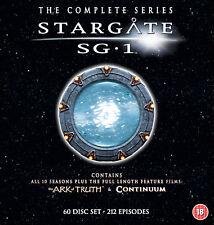 Stargate SG-1 - Complete Season 1-10 plus The Ark of Truth/ Continuum (DVD)