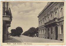 FAENZA - SCUOLA CERAMICA E VIALE BACCARINI (RAVENNA) 1939