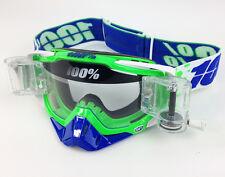 100% porciento Racecraft Gafas de motocross ALCHEMY con gsvs ROLL OFF SYSTEM