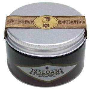 JS Sloane Heavyweight Brilliantine Hair Pomade