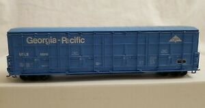WALTHERS HO 56' THRALL ALL-DOOR BOXCAR GEORGIA PACIFIC No. USLX 50248 - RTR