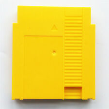 Yellow Case Cartridge Shell Cover For Nintendo Entertainment System NES
