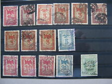 CINDERELLA GERMANY REICH EMPIRE, 15x revenue stamp used, Prussia