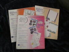 NIP Creative Memories Lot 3 Combination Packs: Celebration, Wilderness, Soccer