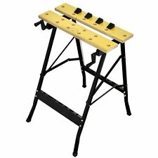 Folding Work Bench Multi Purpose Portable Project Table Cutting Painting Measure