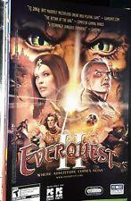 New ListingVintage Comic Print Ad Everquest Ii Sony Pc Video Game Advertisement Eqoa 4Eva!