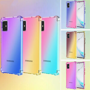 Case For Samsung Galaxy S20 S21 Ultra Plus 5G Shockproof Silicone CLEAR Cover