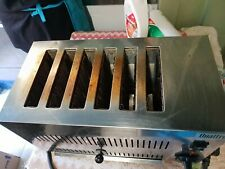 More details for commercial grade 6 slice toaster / stainless steel / professional kitchen