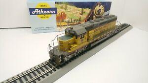 Athearn HO Train Custom LED Union Pacific EMD SD40-2 Powered Diesel Locomotive