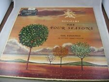 Karl Munchinger Vivaldi The Four Seasons Stuttgart Chamber Vintage Record LP