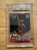 Michael Jordan Beam Team BGS 7 Stadium Club 1993 LAST DANCE Chicago Bulls #4 NR