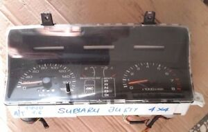 Subaru Justy 1,6L (automatic transmission) 1990 model 4WD instrument cluster LHD
