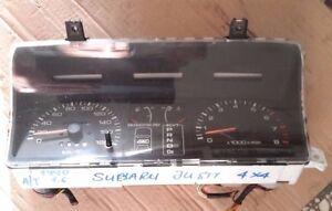 Subaru Justy 1,6L (automatic transmission) 1990 model 4WD instrument cluster LHD