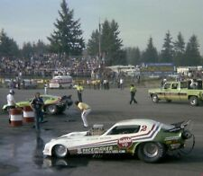 NHRA 1970's Funny Car Drag Racing Photo Bubble Up/ Hawaiian Funny Cars 8 x 10