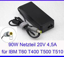 90 WATT 20V 4, 5A ALIMENTATORE PER IBM LENOVO X200 X201 X300 X301 W500 R400 R500