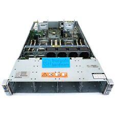 HP DL380p G8 ProLiant 2U Rack Server 2x E5-2650 Xeon Eight Core 64GB RAM 12 LFF