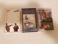 Lot Of 3 80's Hip Hop Cassette Tapes Jazzy Jeff Fresh Prince, Tone Loc, MC Hamme