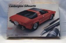 NIB Testors Lamborghini Silhouette 3000 1/24 Scale Model by Allan Day