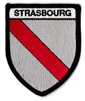 Patche Strasbourg écusson blason patch thermocollant armoirie Alsace Elsass