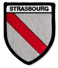 Patche Strasbourg écusson blason patch thermocollant armoirie Alsace Elsass 21183b43048