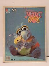1984Jim Henson's Muppet Babies MB Puzzle Ages 3-5 Milton Bradley 25 Piece