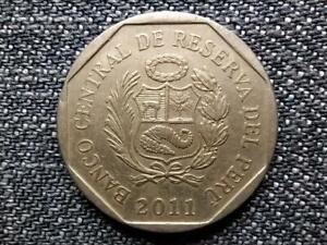Peru 50 Céntimos Coin 2011 LIMA