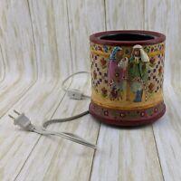 Jim Shore Crazy Mountain Angel Nativity Jar Candle Warmer Christmas Holiday