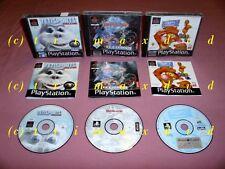 PS1 _ Yetisports DeLuxe & Beyblade Let It Rip & Tiggers Honigjagd _ Erstausgaben