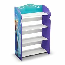 NEW DELTA CHLDREN DISNEY FROZEN WOODEN BOOKCASE NURSERY PLAYROOM BOOK SHELVES