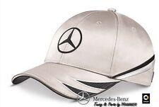 Mercedes Benz DTM Herren Cap Schirmmütze Mütze Basecap silber schwarz B67995277