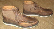 New Mens Ariat Lookout Brown Leather Ankle Boots sz 13 D