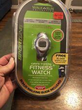 SPORTLINE Pedo 955 Pedometer & Fitness Purple Watch - NIP New