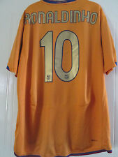 Barcelona 2006-2007 Ronaldinho away Hogar Camiseta De Fútbol Tamaño Extra Grande/40200